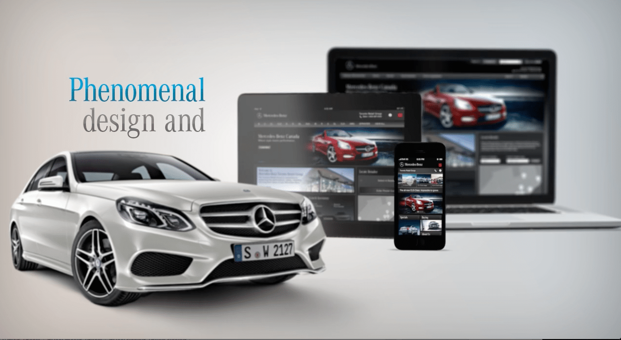 mercedes canada service application