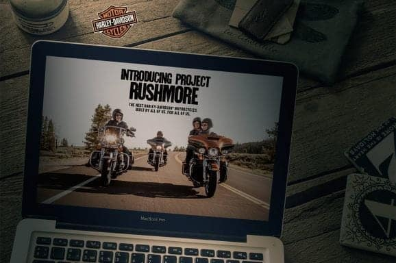 PROJECT RUSHMORE – Harley Davidson