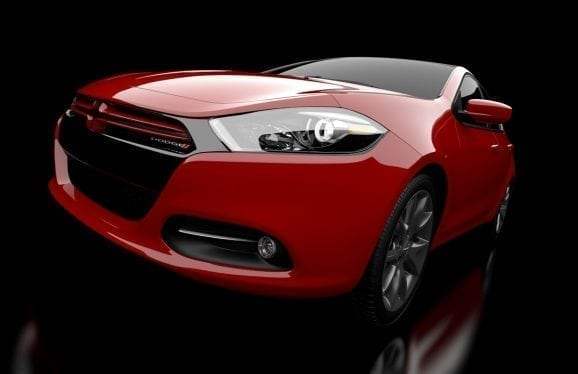 Dodge Dart Interactive Wall